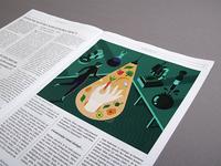 Illustration for Bio Family magazine
