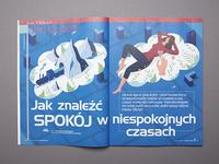 Illustration for Charaktery magazine