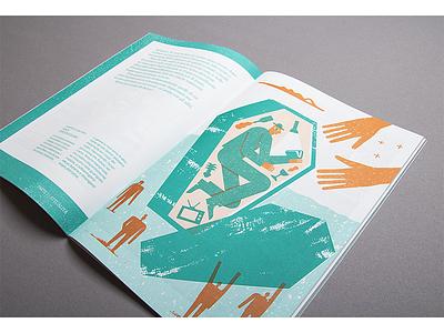 Illustration for Pelo magazine news fake magic coffin photo print magazine zin pelomagazine pelo illustration