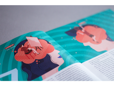 Illustration for Psychologia Dziś magazine