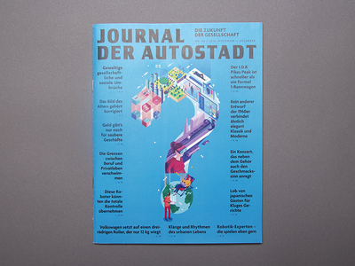 Cover for Autostadt magazine