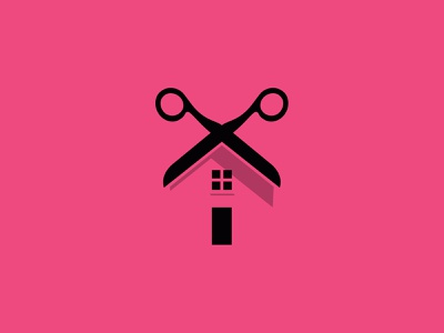 In-Home Grooming WIP pet grooming groomer branding logomark icon wip logo