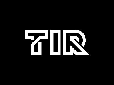 TiR venture capital vc tir tech investment rejected r i t monogram logo unused