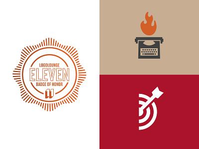 Logo Lounge Book 11 d arrow target logo typewriter flame logolounge11 logolounge