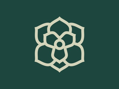 Magnolia flower magnolia design illustration killed rejected logo icon logomark unused