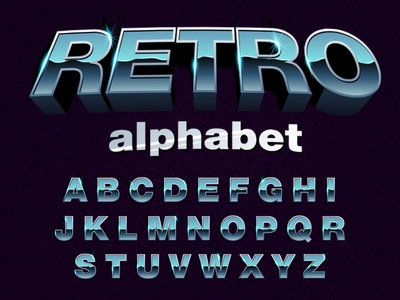 Retro Typography
