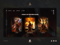 Assassin's Creed Odyssey — web concept