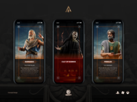 Assassin's Creed Odyssey — mobile concept