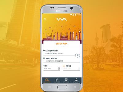 Vivalines Bus Booking Mobile App