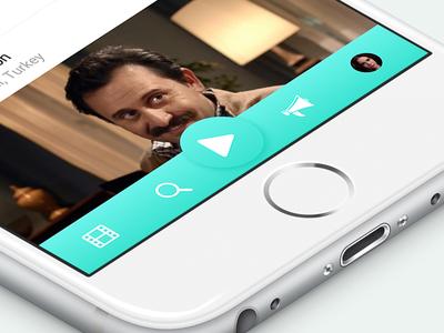Mobile App Bottom Bar
