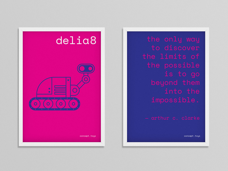 Concept Toys Poster 2 thedepartmentsf branding illustration graphic design poster