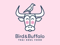 Logo for Bird & Buffalo, Soul Thai Food