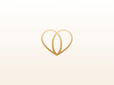 Logo Emblem Wedding Society jewel india society emblem gold heart wedding logo love