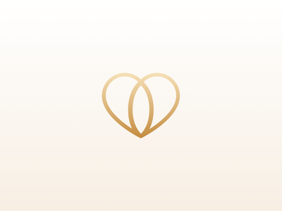 Logo Emblem Wedding Society jewel india society emblem gold heart wedding logo love