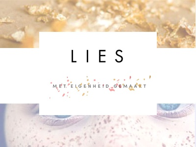 Branding for Lies, a Jewellery Designer freckles gold branding designer jewelery jewellery