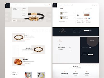 Sol Amber Group - online shop e-commerce web ux ui