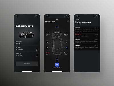 Car app concept ios car app car app ux ui