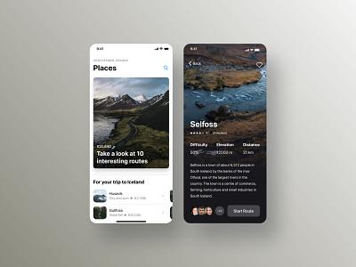 Travel Mobile App ios app ux ui