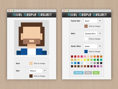 Pixel People Project