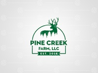 Pine Creek Farm Logo Design