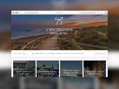 View49.Villas - Website Design webdesign website design multi lang website concept consulting design web business website