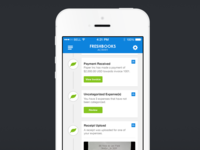 Freshbooks UI Concept