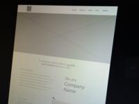 (WIP) Glazing Company Website