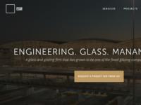 (WIP) EGM Homepage Update
