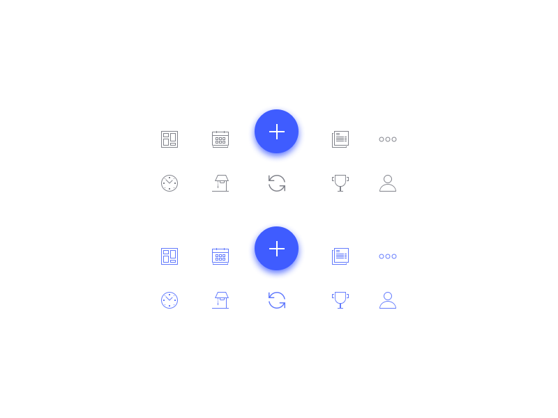 Ministree Nav Icons by Michael Parks on Dribbble