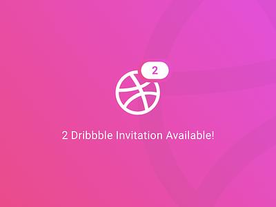 2 Dribbble Invitations Available dribbble invite player draft invitation invite dribbble