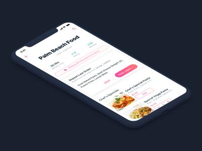Repeat Order | Restaurant Details | Food App