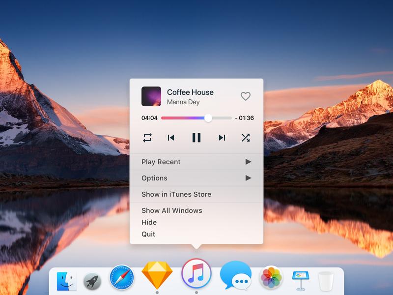 iTunes Controls - Visualized