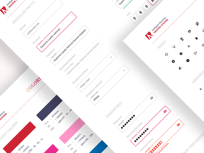 Design System | Intelligent Machines | bKash Biponon invision abstract android workflow ux system design styleguide style guide sketch symbol components im intelligent machines library ui