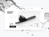 Nike Benassi Product Card