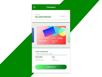 Credit Card Checkout #dailyui 002 dailyui