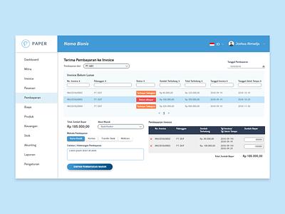 Create Payment Page - Paper.id uiux ux design ui ux