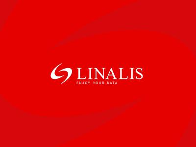 Linalis vector colors corporate branding logotype typography branding design corporate logo