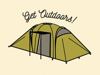 Tent Illustration