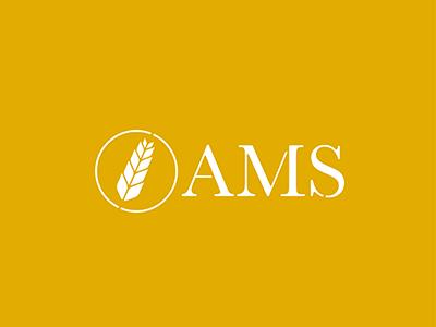 AMS logo business farming logo