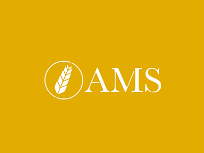 AMS logo business farming logo