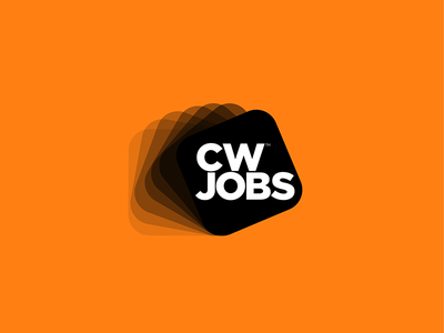CW Jobs logo business recruitment logo