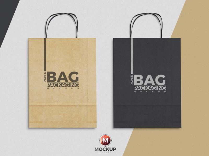 Free Paper Bag Mockup To Showcase Packaging Designs free freebies free mockup mockup