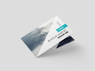 Free Horizontal Folded Brochure Mockup Psd By Mockup Planet - Dribbble