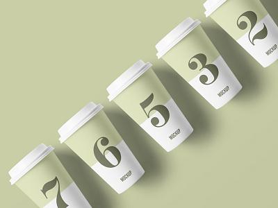 Free Packaging Paper Cup Mockup mockuptemplate psdmockup freebie freemockup mockup