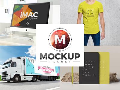 10 Free Psd Mockups 2018 By Mockup Planet V4