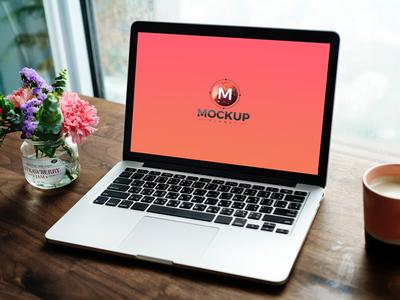 Free Laptop Website Mockup 2018
