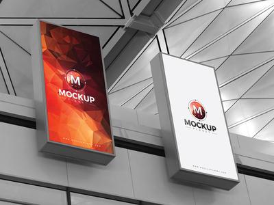 Free Expo Billboards Mockup