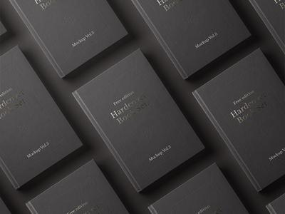 Free Psd Book Mockup Hardcover 2018