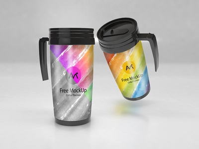 Free Thermos Mockup For Branding