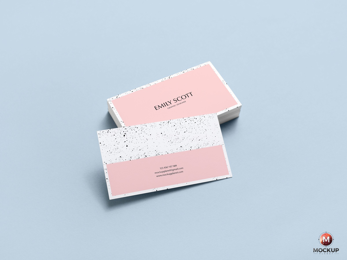 Free Brand Business Card Mockup Psd By Mockup Planet Dribbble